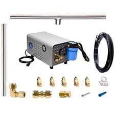 Build Your Own Patio Misting System Diy Misting Kits And Systems High Pressure Misting Fans U0026 Kits