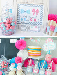 reveal baby shower awesome gender reveal baby shower decorations decorating ideas 2018