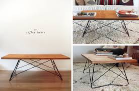 Wire Coffee Table 15 Diy Coffee Table Ideas Personalize Your Living Room