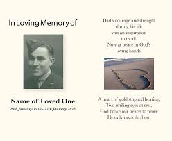 memorial cards for funeral funeral service books memorial cards perth direction design