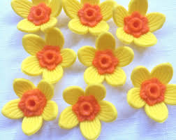 Easter Cake Edible Decorations by Edible Daffodil Etsy