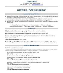Electrical Design Engineer Resume Sample by Marvelous Design Ideas Engineering Resume Template 13 42 Best