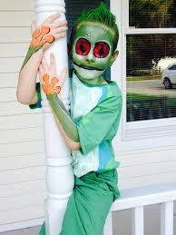 homemade green eyed tree frog costume halloween pinterest