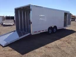 4926 featherlite enclosed car trailers race car haulers bumper