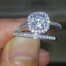 crystal diamond rings images 10kt white gold filled white crystal diamond ring jpg