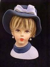 853 best lady head vases images on pinterest head planters vase