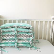 Baby Crib Bumpers Crib Bumpers Baby Bedding Bumper Clouds Bedding Handmade