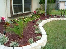 Diy Backyard Design Triyae Com U003d Backyard Flower Bed Ideas Various Design