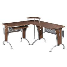 gillespie l shaped desk amazon com space saver computer l desk kitchen dining