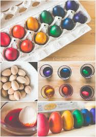dyed wooden eggs plain vanilla mom