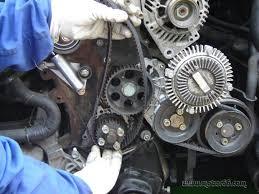 mecánica la correa de distribución motor 66