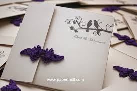 Invitation Cards Handmade - mo s lovebirds knot wedding invitation card malaysia