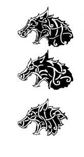 celtic viking wolf design viking and celtic heritage