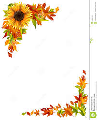 thanksgiving page border clipart clipartxtras