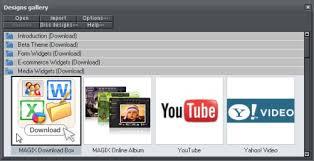 magix web designer 6 xara widget guide v6 media