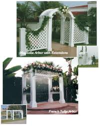 wedding arches to rent wedding decor wedding rentals specials hotz catering and rental