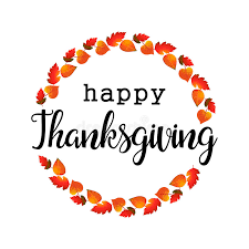 flat design style happy thanksgiving day logotype badge and icon