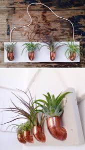 Mason Jar Wall Planter by Diy Copper Pvc Wall Planter Decor Pinterest Planters Walls