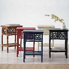 Sofa Table With Stools Side Tables The Company Store