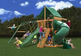 Backyard Swing Set Ideas Backyard Backyard Play Set Laudable Carolina Wooden Swing