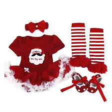 thanksgiving crafts for infants amazon com babypreg baby girls my first christmas santa costume