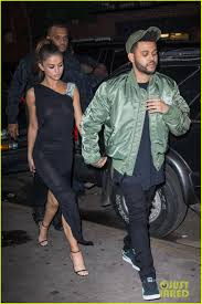 selena gomez wears sheer dress for date with the weeknd photo