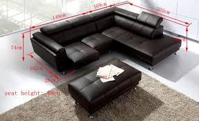 canapé d angle cuir canapé d angle cuir cosy canapé d angle en cuir 4 personnes