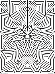 free geometric coloring pages free printable geometric coloring