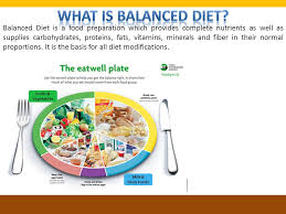 what is balanced diet why eat healthy components