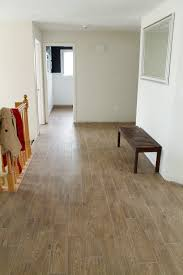 Fake Wood Laminate Flooring Faux Wood Tile The After Photos Wood Tile Floors Real Wood