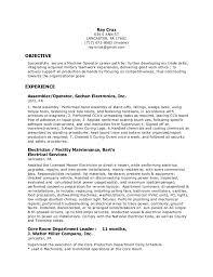 Heavy Equipment Operator Skills Resume Machine Operator Resume Resume Machinist Resumes Heavy Equipment
