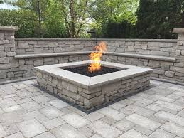 rumblestone fire pit insert stone fire pit kits outdoor goods