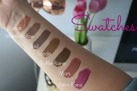 coloured raine matte lip paint swatches dupes u0026 reviews beauty