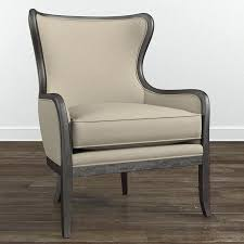 wood accent chair solid wood leg nailhead trim accent chair