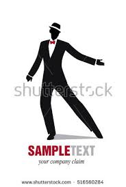 swing jazz silhouette jazz swing stock vector 516560284