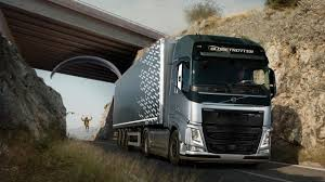 volvo truck dealerships near me volvo truck performs big stunt with paraglider and bridge