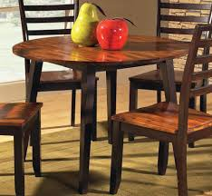 circular drop leaf table dining tables with leaves