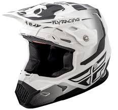 fly motocross boots toxin matte white black helmet fly racing motocross mtb bmx