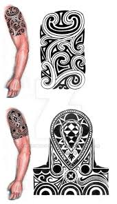 tribal shoulder arm design by thehoundofulster on deviantart