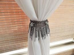 Diy Curtain Tiebacks 10 Awesome Diy Curtain Tie Backs