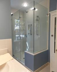 B Q Shower Doors by Panel Door Panel Return Shower Door King Shower Door Installations