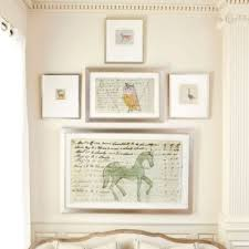 large horse document drawing european inspired home decor