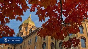 Notre Dame Campus Map Sights And Sounds Visitors University Of Notre Dame