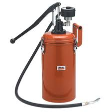 lincoln 1253 manual gear lube dispenser 30 lb bulk lin1253