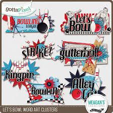 let u0027s bowl word art clusters scrapbooking wordart pinterest