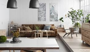 Creative Home Decorating by Soft Teal Sofa 4 Modern Pendant Lights