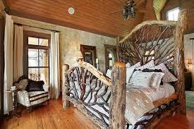 Log Bedroom Furniture Sets For Interiors Rustic Image Of Rustic Log Bedroom Sets Image Of