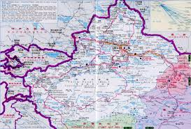 Travel Maps Maps Of Xinjiang And Silk Road Travel West China