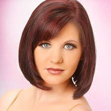 bob haircuts with center part bangs the 25 best bob hairstyles with bangs ideas on pinterest blonde