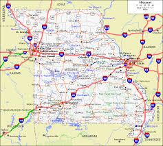 missouri map cities troopers endorse amendment 7 in the name of road safety the